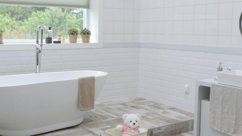 Besikta huset eller lägenheten - badrum, fuktskada